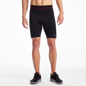 saucony Bell Lap Shorts Heren, zwart